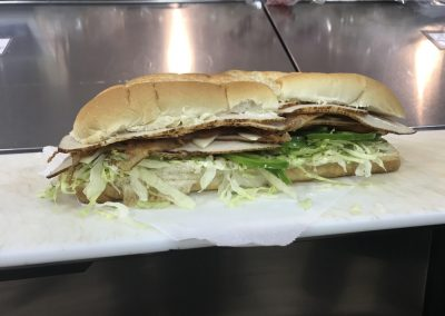Delicious Turkey Sub