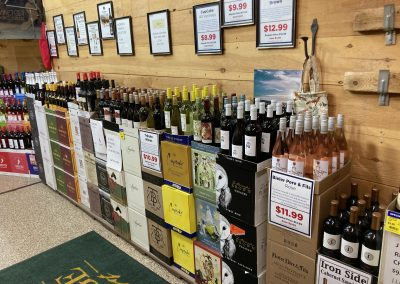 Monthly Specials on Wines
