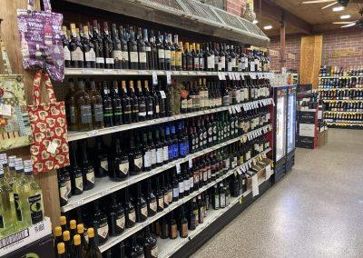 Wine at Beverage Mart, St. Albans, Vermont
