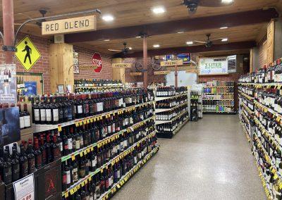 Inside the Wine Arsenal at Beverage Mart